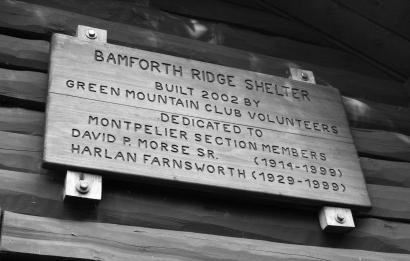 Bamforth Ridge Shelter